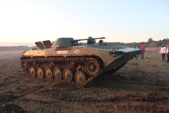 Selber Panzer fahren BMP 1