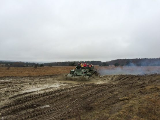 Selber Panzer fahren T55T 1