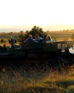 Mitfahren im Panzer 2