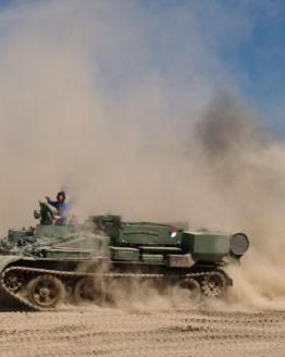 T55t Panzer fahren